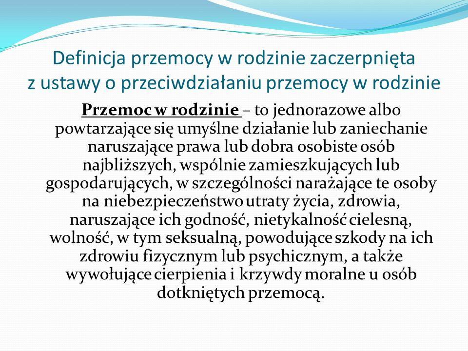 Skala zjawiska przemocy w rodzinie w Polsce Dane uzyskane na podstawie procedury Niebieskiej Karty - w 1999 roku liczba ofiar przemocy wyniosła 96955 osób - w 2010 roku liczba ofiar przemocy wyniosła 134866 osób Na przestrzeni 11 lat liczba osób dotkniętych przemocą w rodzinie wzrosła o 39, 10 %
