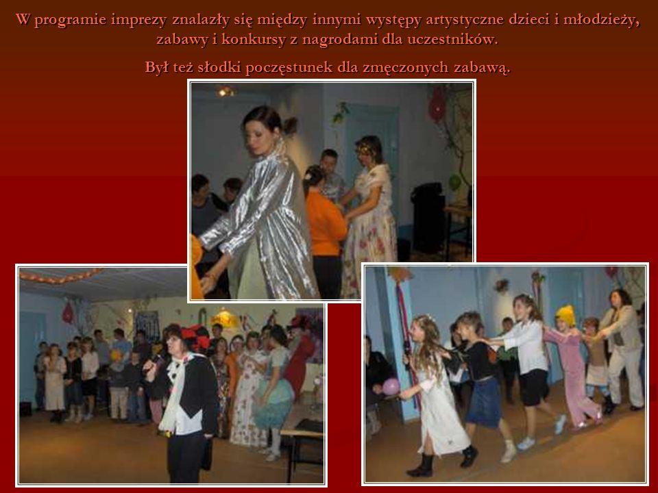106 W programie imprezy znalazły się między innymi występy artystyczne dzieci i młodzieży, zabawy i konkursy z nagrodami dla uczestników. Był też słod