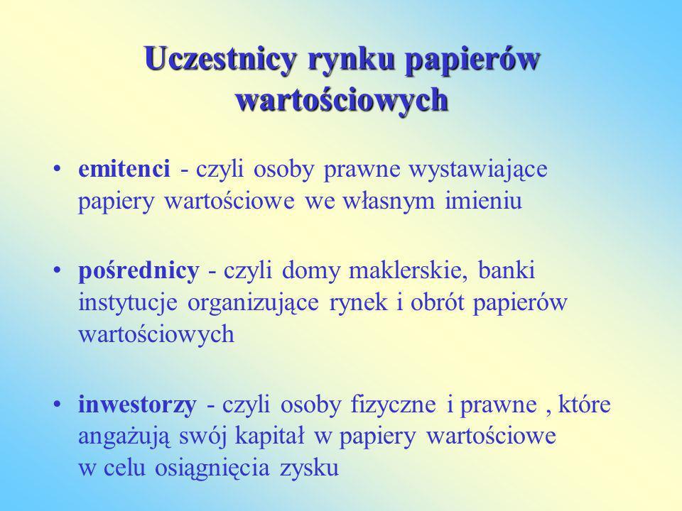 Celem emisji bankowych papierów wartościowych jest gromadzenie przez banki środków pieniężnych.