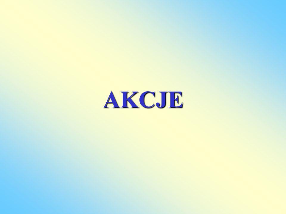 Akcja Akcja jest papierem wartościowym stwierdzającym udział jej posiadacza w kapitale spółki akcyjnej, uprawniającym jej właściciela do uczestniczenia w walnych zgromadzeniach oraz zyskach spółki.