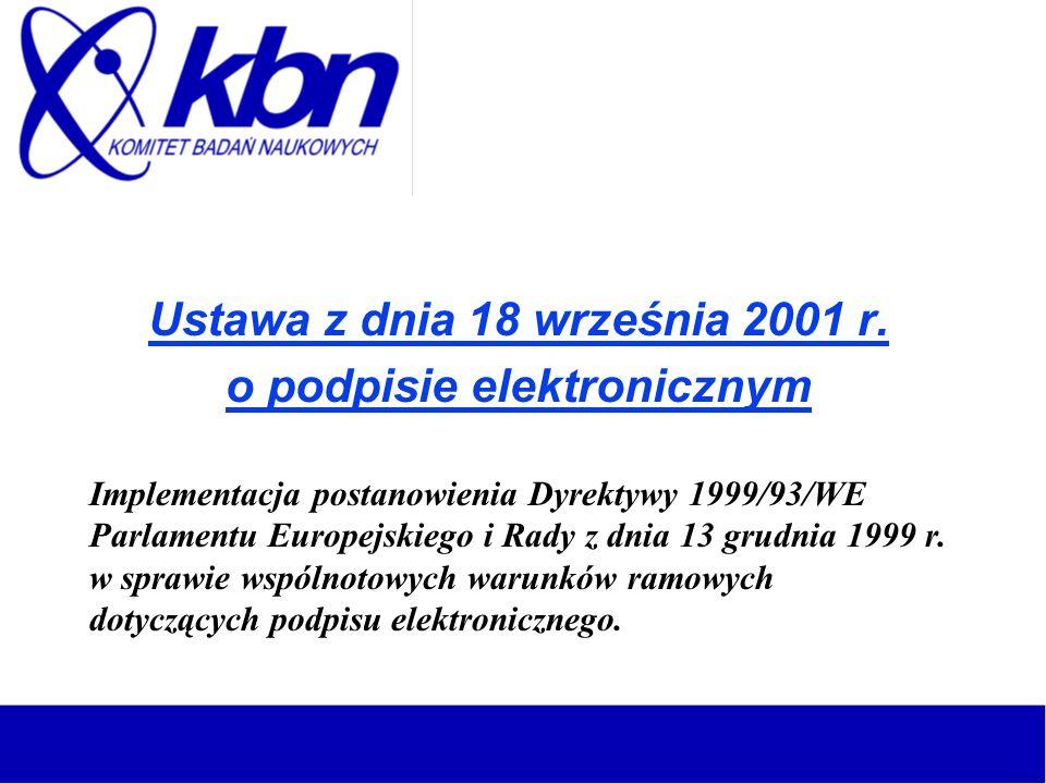 Ustawa z dnia 18 września 2001 r.