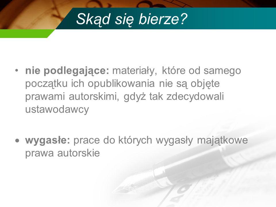 Zasoby Ibiblio.org: http://www.ibiblio.org/ Google search + US gov.