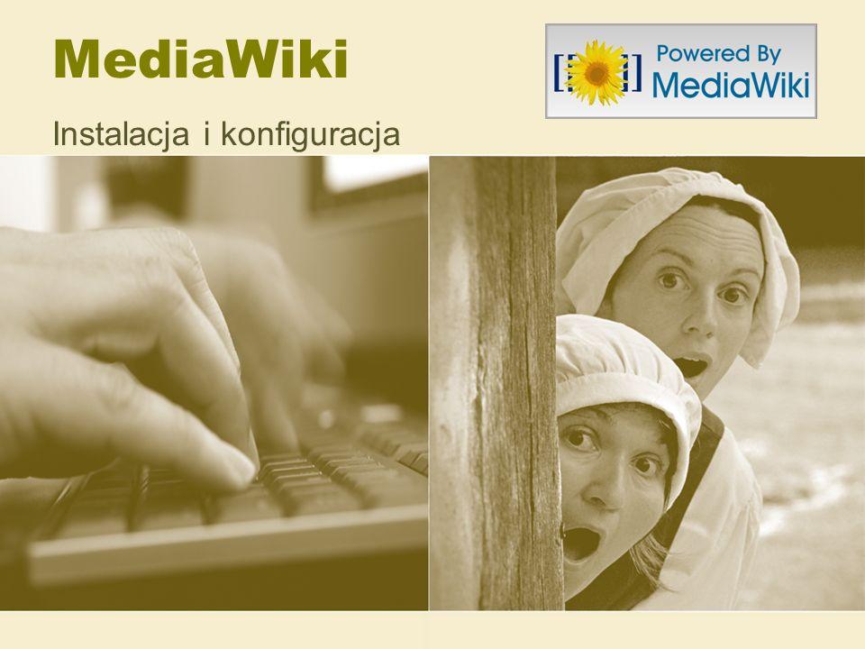 MediaWiki Instalacja i konfiguracja