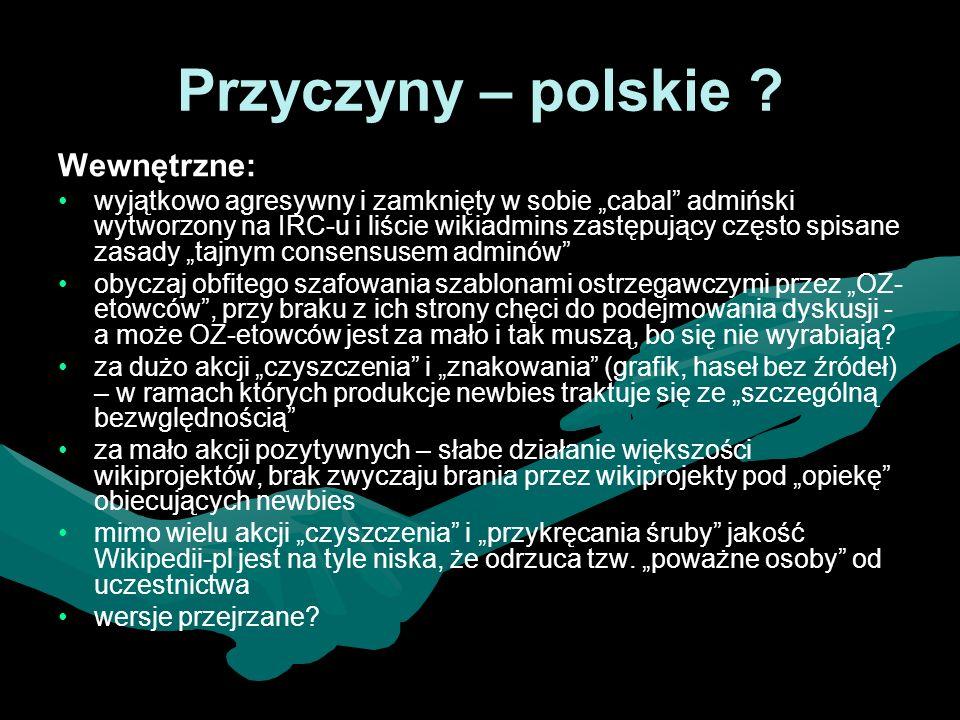 Przyczyny – polskie .