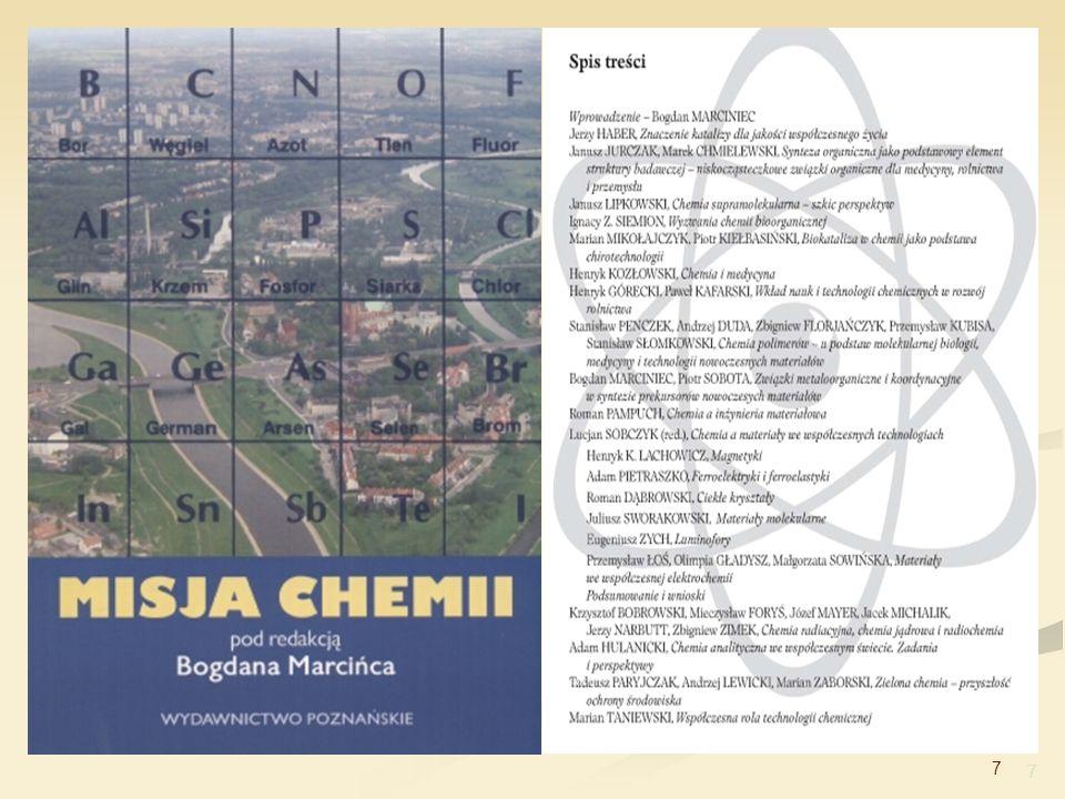 8 Zielona chemia Zielona chemia – projektowanie produktów i procesów chemicznych, które zmniejszają lub eliminują użycie i wytwarzanie niebezpiecznych substancji (Anastas – 1991) Niebezpieczne substancje fizyczne (palność, zagrożenie eksplozja) toksyczność (np.