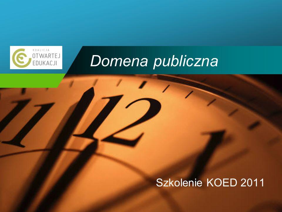 Company LOGO Domena publiczna Szkolenie KOED 2011