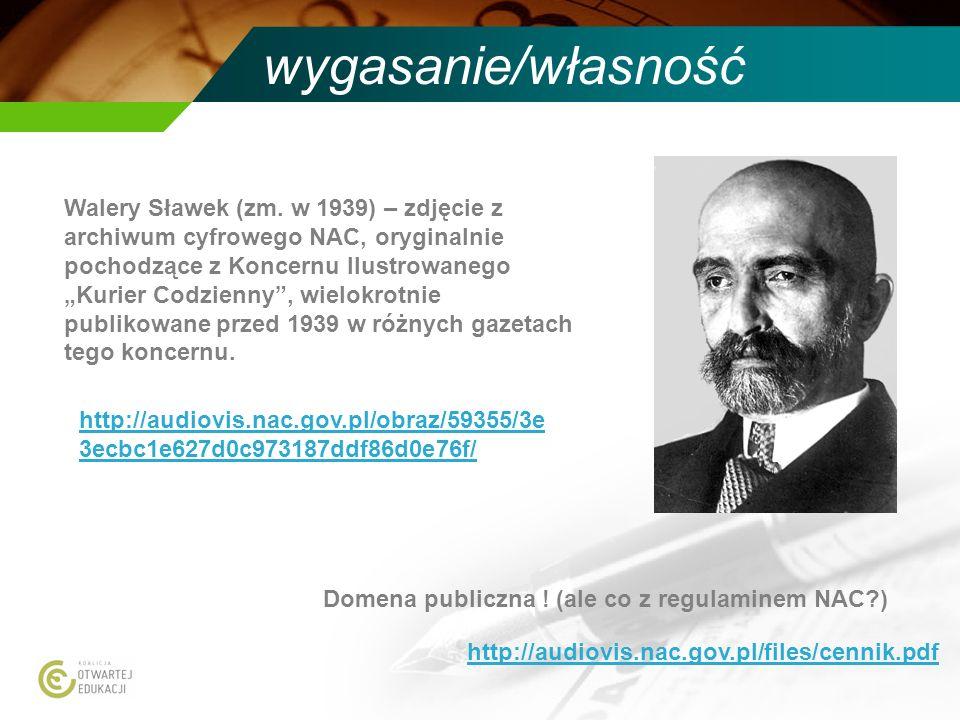 wygasanie/własność Walery Sławek (zm. w 1939) – zdjęcie z archiwum cyfrowego NAC, oryginalnie pochodzące z Koncernu Ilustrowanego Kurier Codzienny, wi