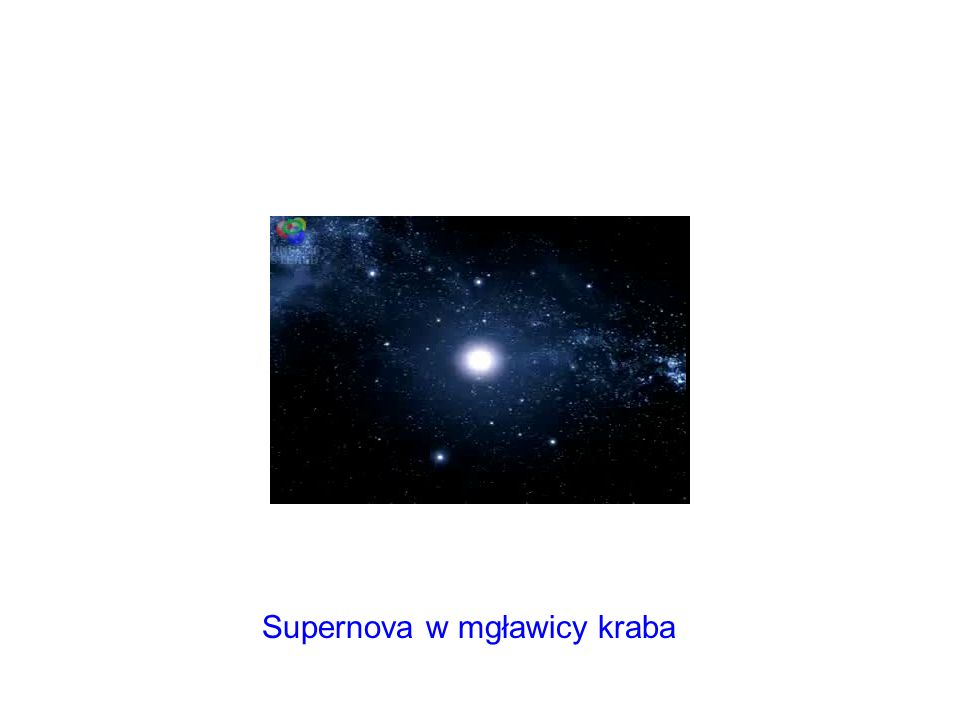 Supernova w mgławicy kraba