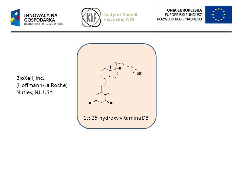 1,25-hydroxy vitamina D3 BioXell, Inc. (Hoffmann-La Roche) Nutley, NJ, USA Instytut Chemii Fizycznej PAN