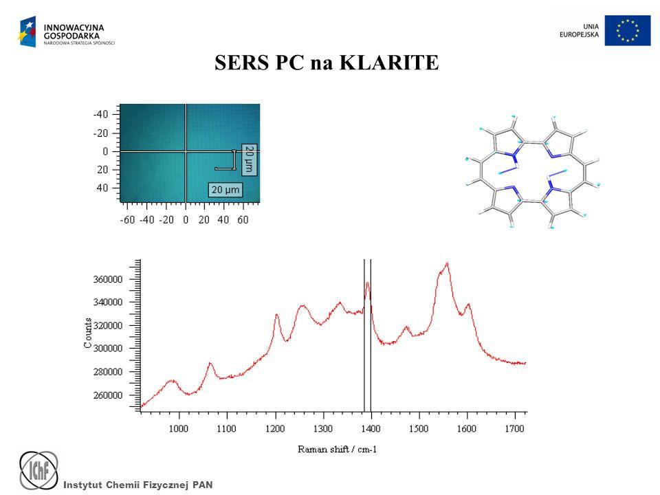 Instytut Chemii Fizycznej PAN SERS PC na KLARITE