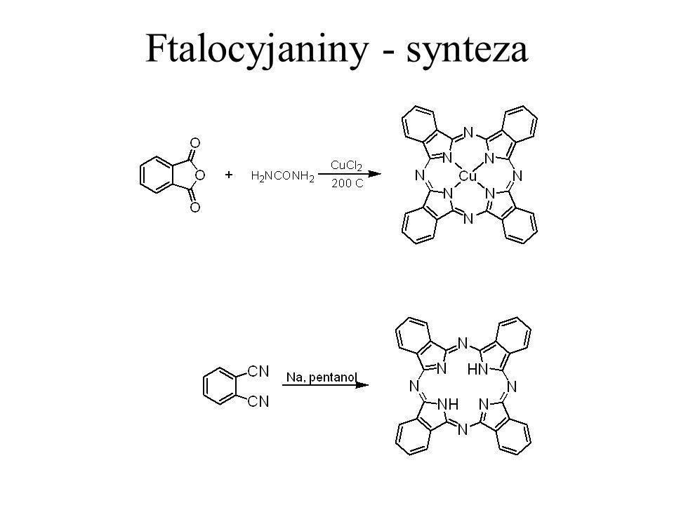 Ftalocyjaniny - synteza