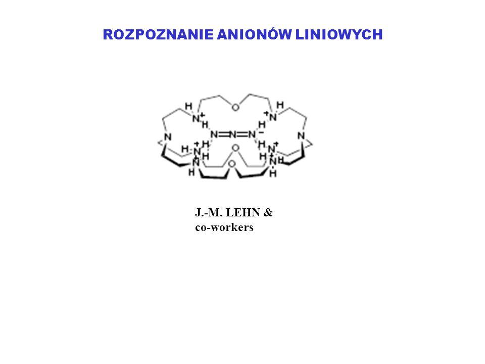 ROZPOZNANIE ANIONÓW LINIOWYCH J.-M. LEHN & co-workers
