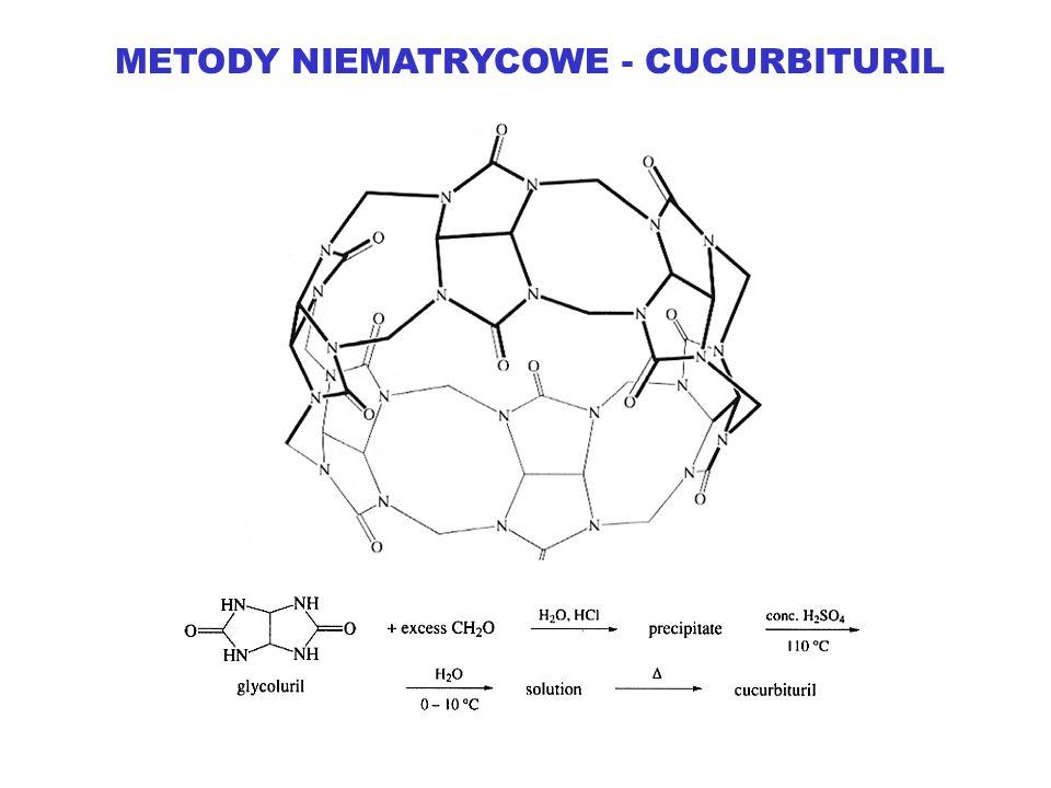 METODY NIEMATRYCOWE - CUCURBITURIL