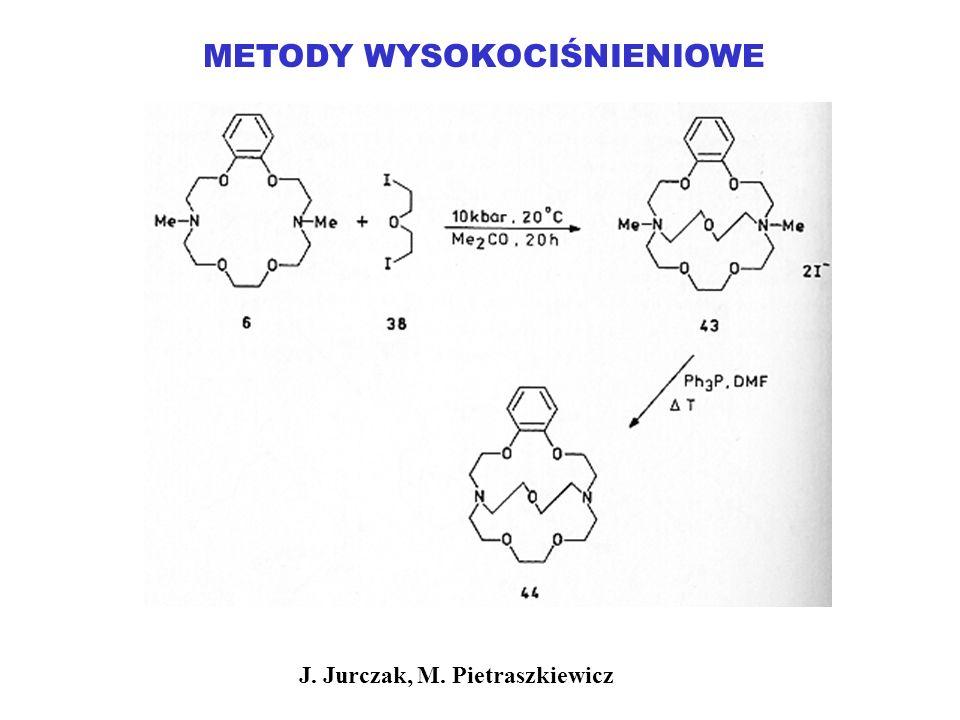 METODY WYSOKOCIŚNIENIOWE J. Jurczak, M. Pietraszkiewicz