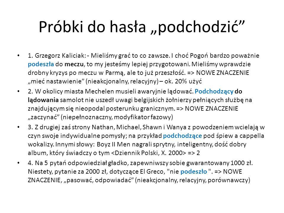 Próbki do hasła podchodzić 1. Grzegorz Kaliciak: - Mieliśmy grać to co zawsze. I choć Pogoń bardzo poważnie podeszła do meczu, to my jesteśmy lepiej p
