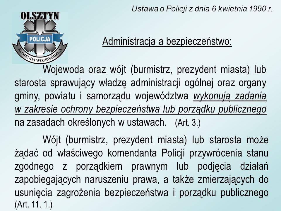 Wojewoda oraz wójt (burmistrz, prezydent miasta) lub starosta sprawujący władzę administracji ogólnej oraz organy gminy, powiatu i samorządu województ