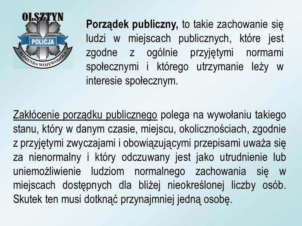 Podstawowe zadania Policji województwa warmińsko- mazurskiego określone na 2008 r.