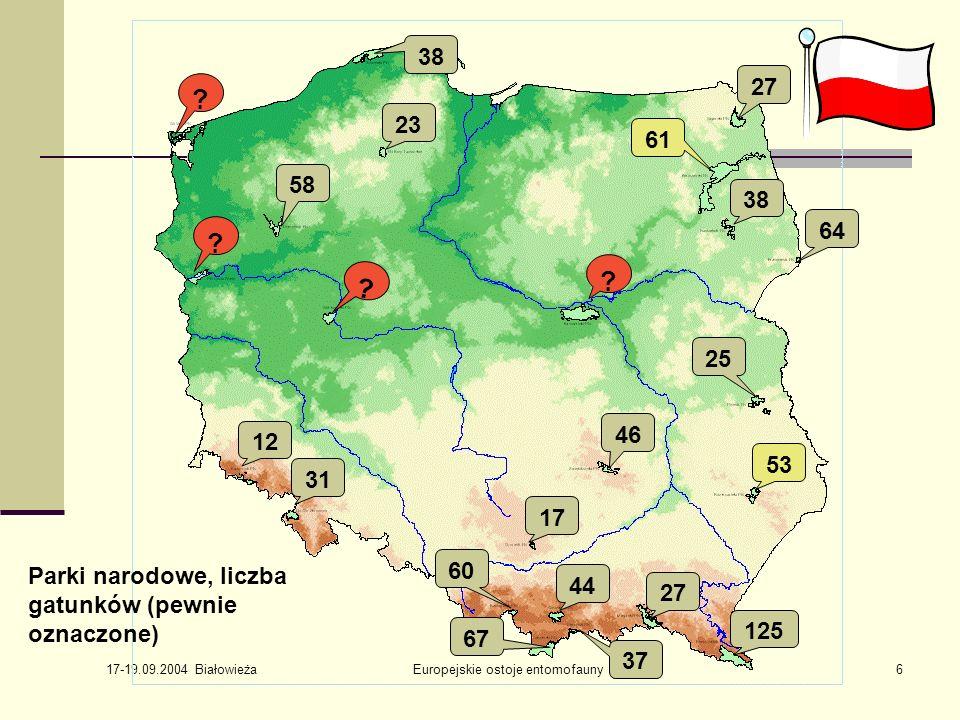 17-19.09.2004 Białowieża Europejskie ostoje entomofauny7 .