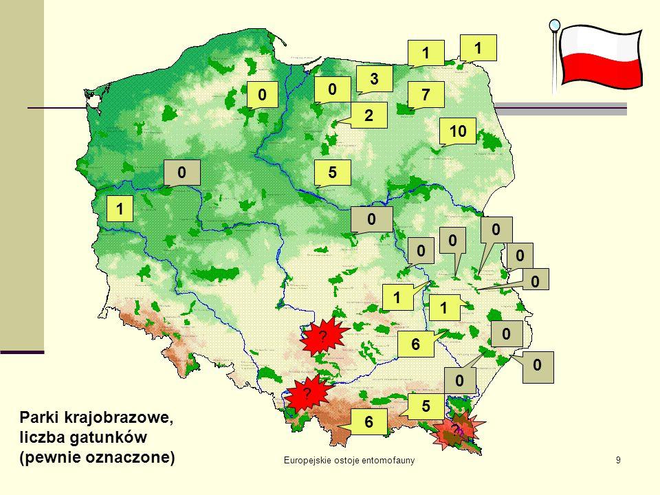 17-19.09.2004 Białowieża Europejskie ostoje entomofauny10 Parki narodowe…