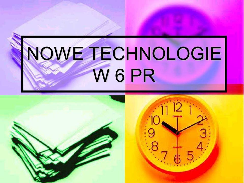 NOWE TECHNOLOGIE W 6 PR