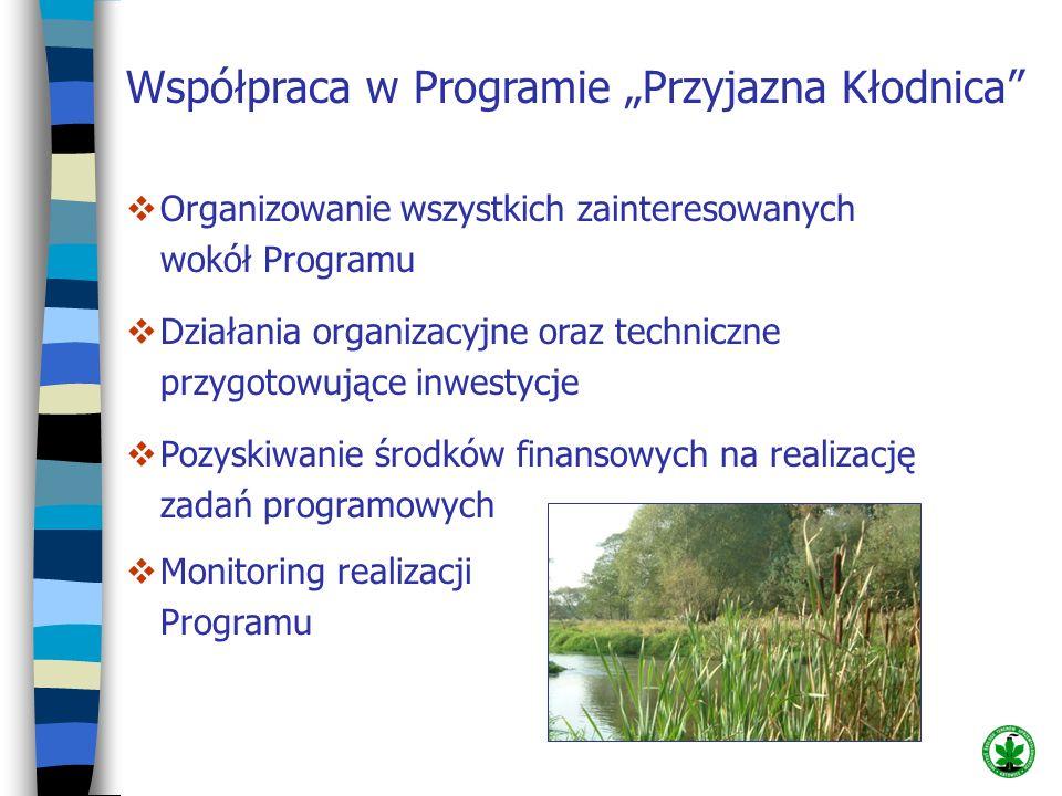 Współpraca w Programie Przyjazna Kłodnica Organizowanie wszystkich zainteresowanych wokół Programu Działania organizacyjne oraz techniczne przygotowuj