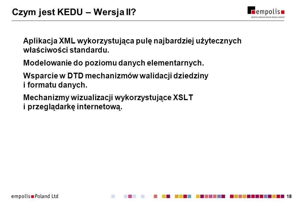 18 Czym jest KEDU – Wersja II.
