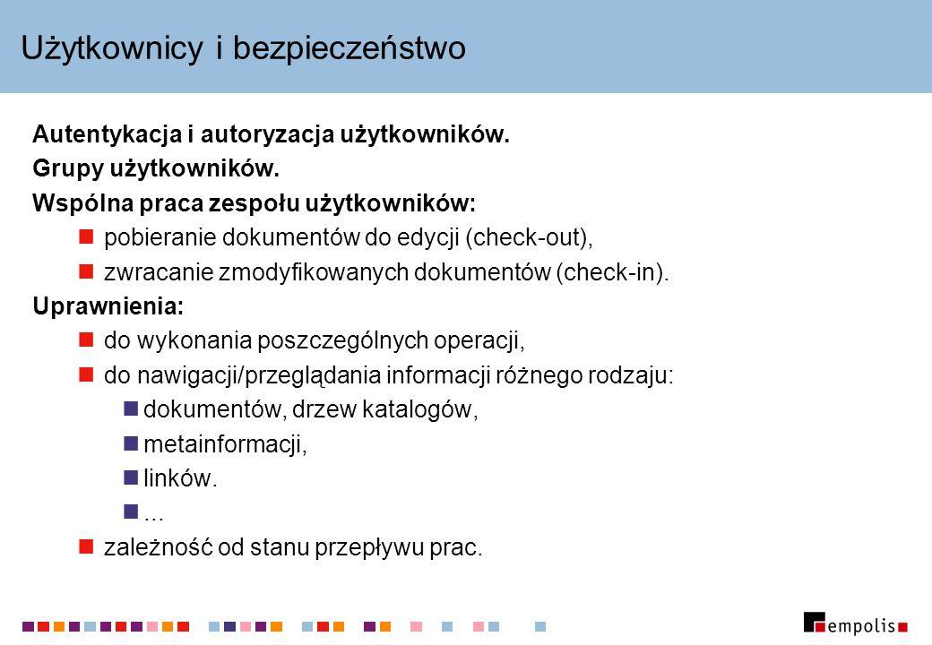 Użytkownicy i bezpieczeństwo Autentykacja i autoryzacja użytkowników.