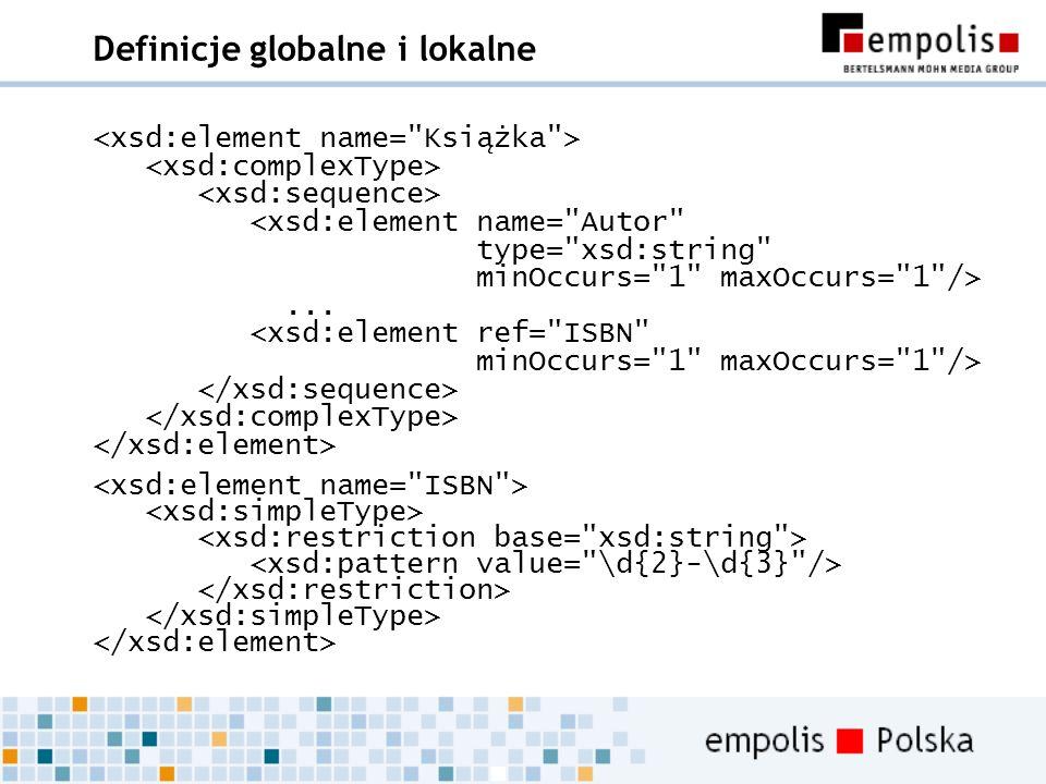 Definicje globalne i lokalne...