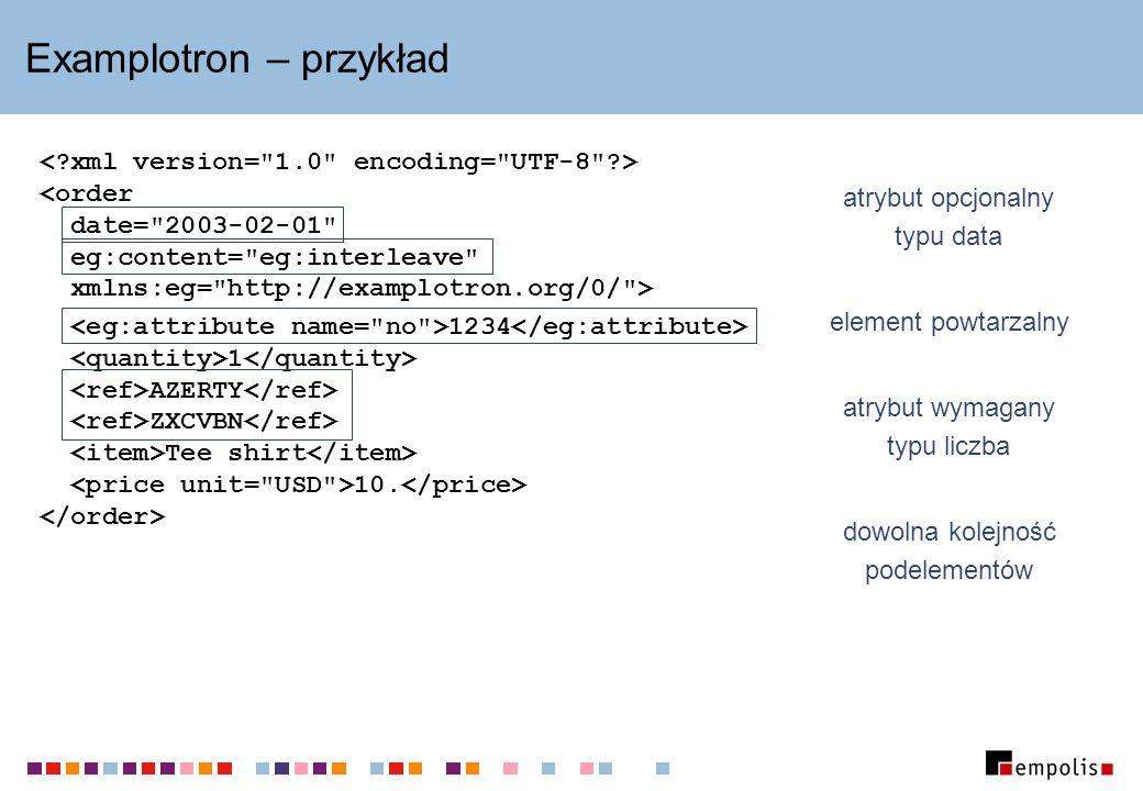 Examplotron – przykład 1234 1 AZERTY ZXCVBN Tee shirt 10.