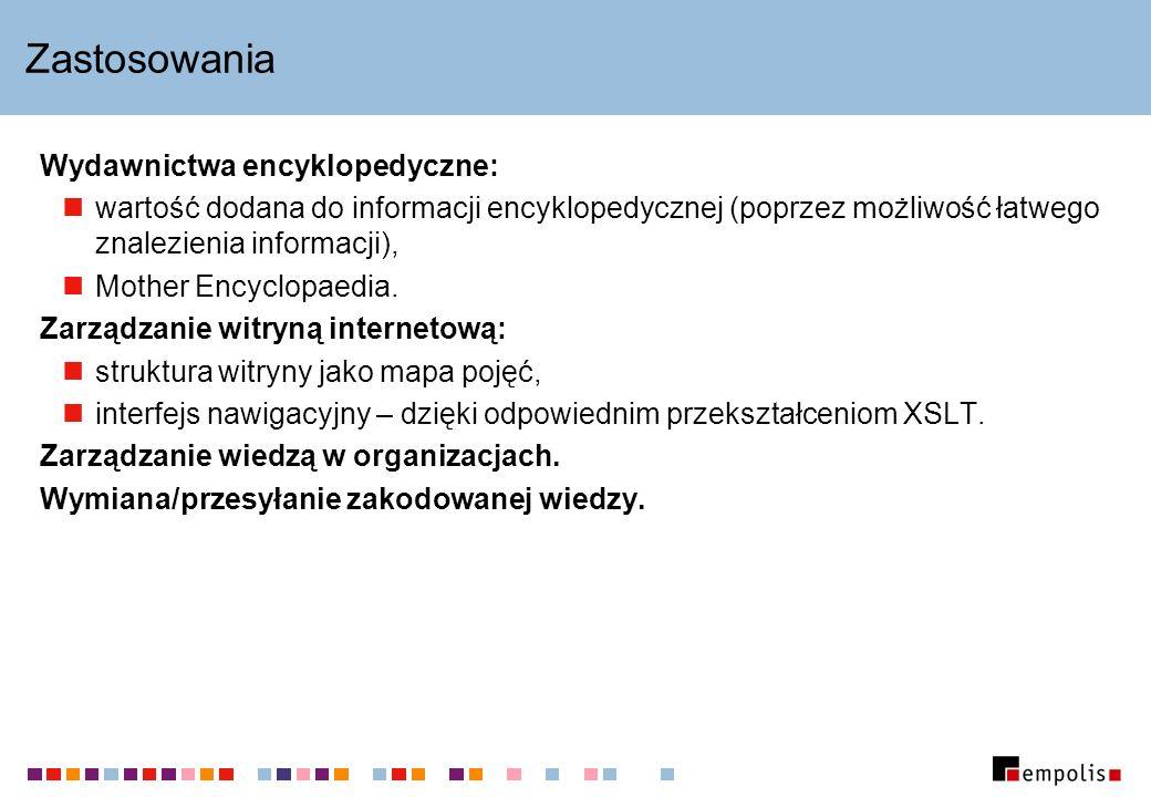 Zastosowania Wydawnictwa encyklopedyczne: wartość dodana do informacji encyklopedycznej (poprzez możliwość łatwego znalezienia informacji), Mother Enc