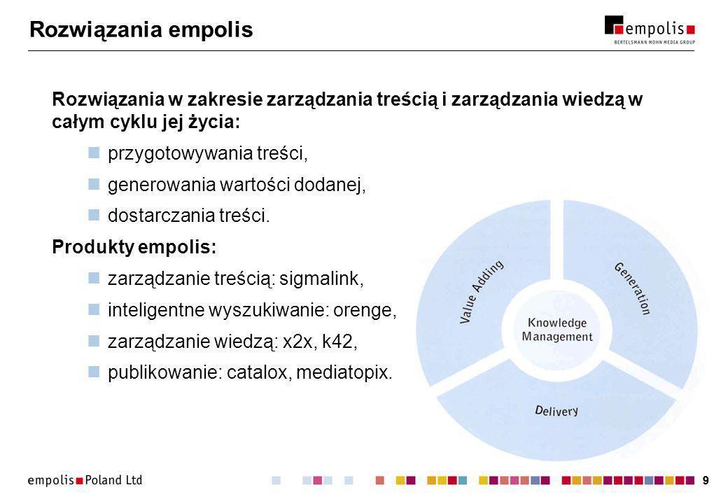 30 Najodpowiedniejszy model Przykłady: encyklopedia:,,,,,, prawo:,,,,, dokument techniczny:, patenty:, ubezpieczenia:,