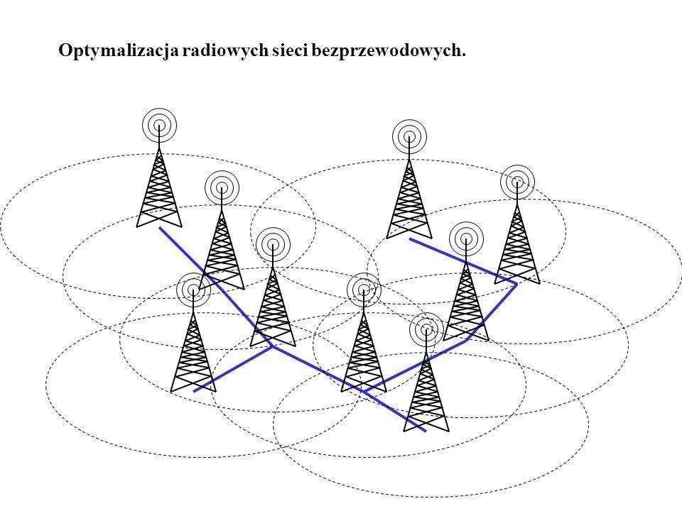 Optymalizacja radiowych sieci bezprzewodowych.