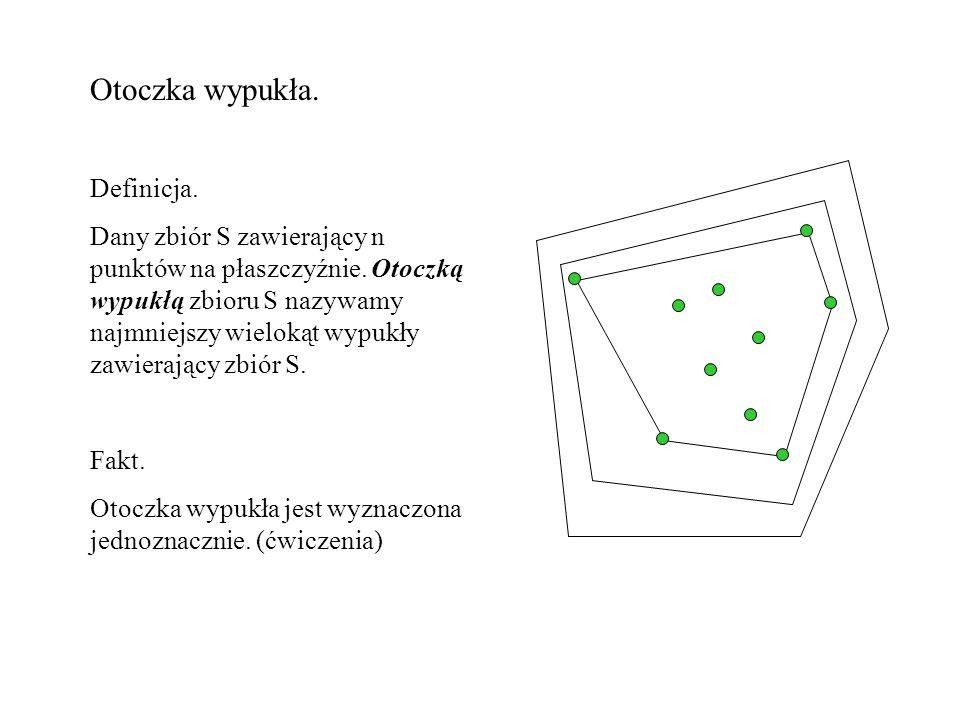 8.Niech S będzie zbiorem n (być może przecinających się) jednostkowych okręgów na płaszczyźnie.