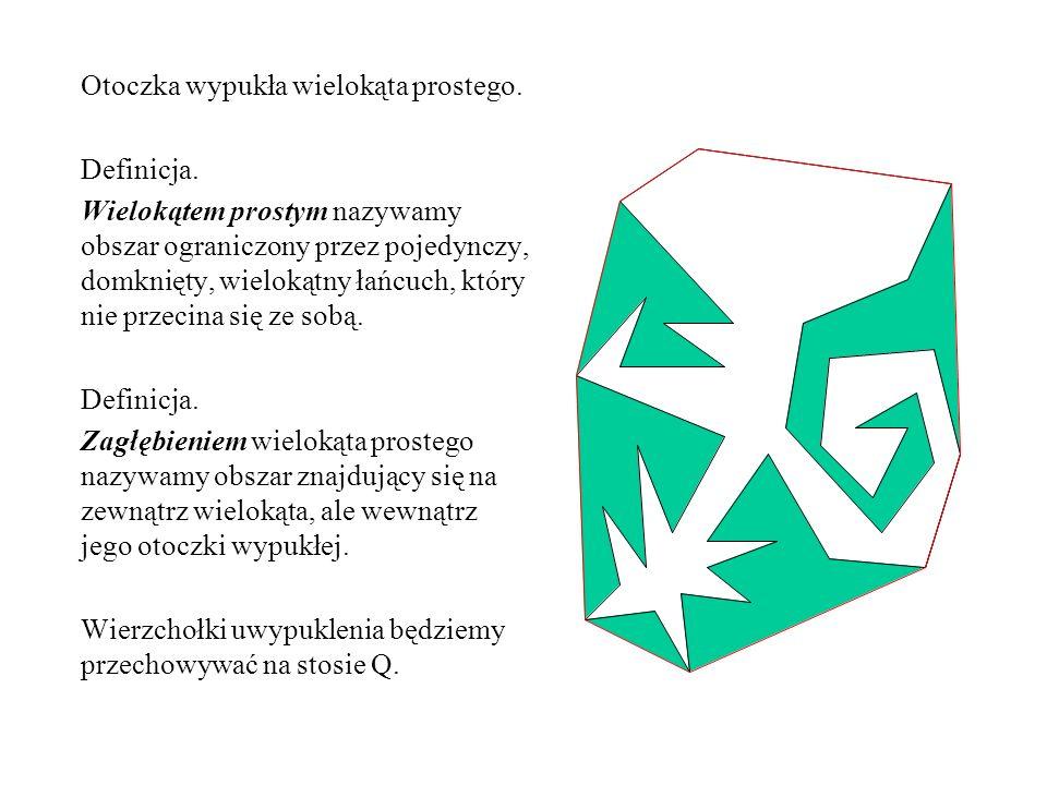 Triangulacja wielokąta monotonicznego.Definicja.