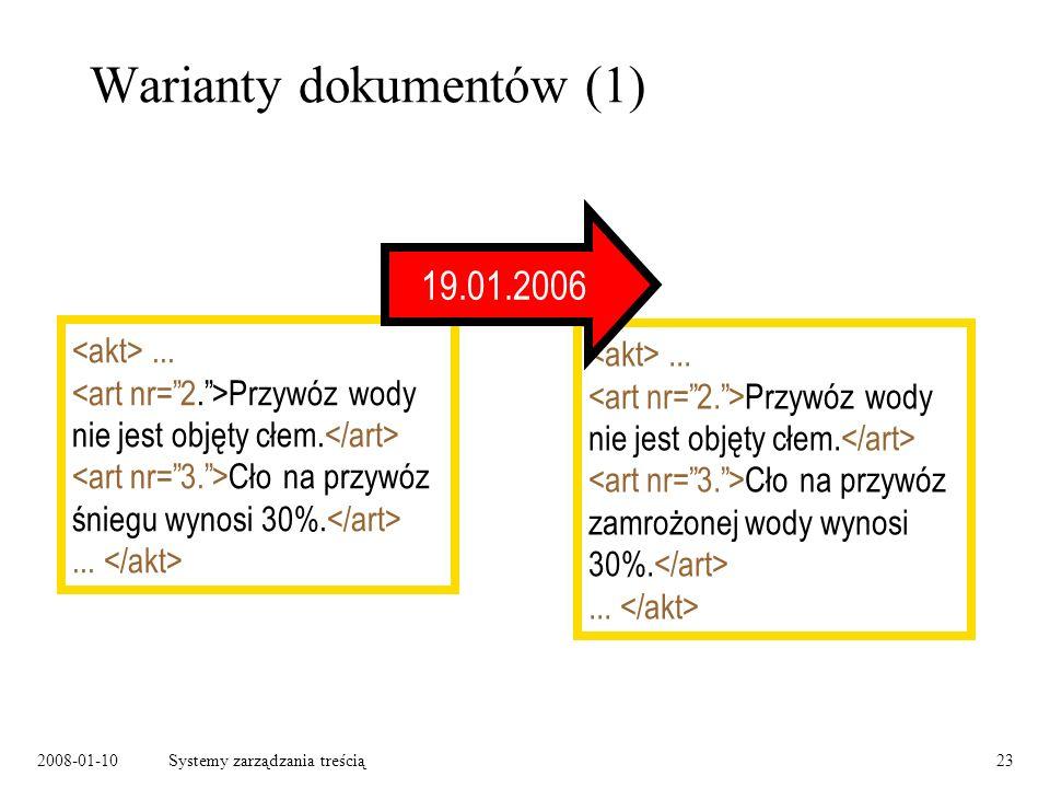 2008-01-10Systemy zarządzania treścią23 Warianty dokumentów (1)...