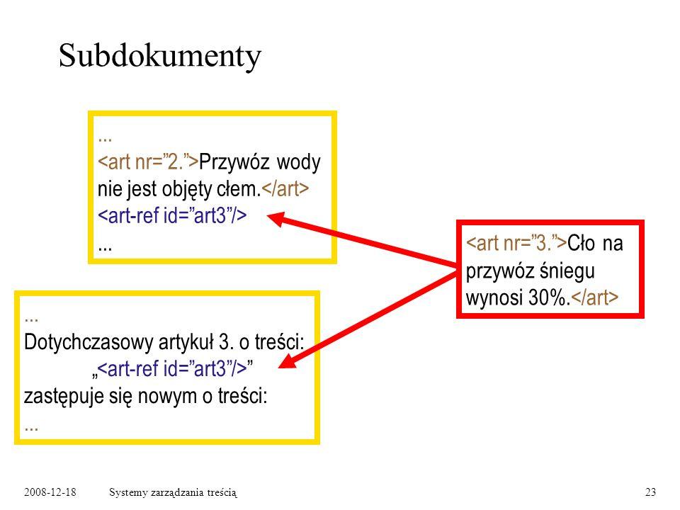 2008-12-18Systemy zarządzania treścią23...