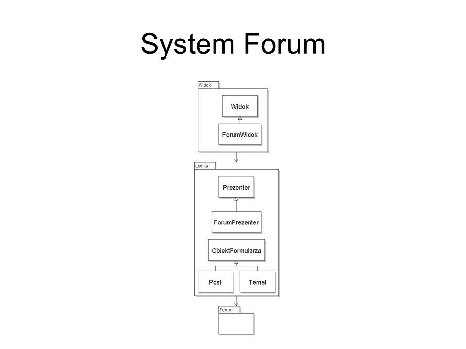 System Forum