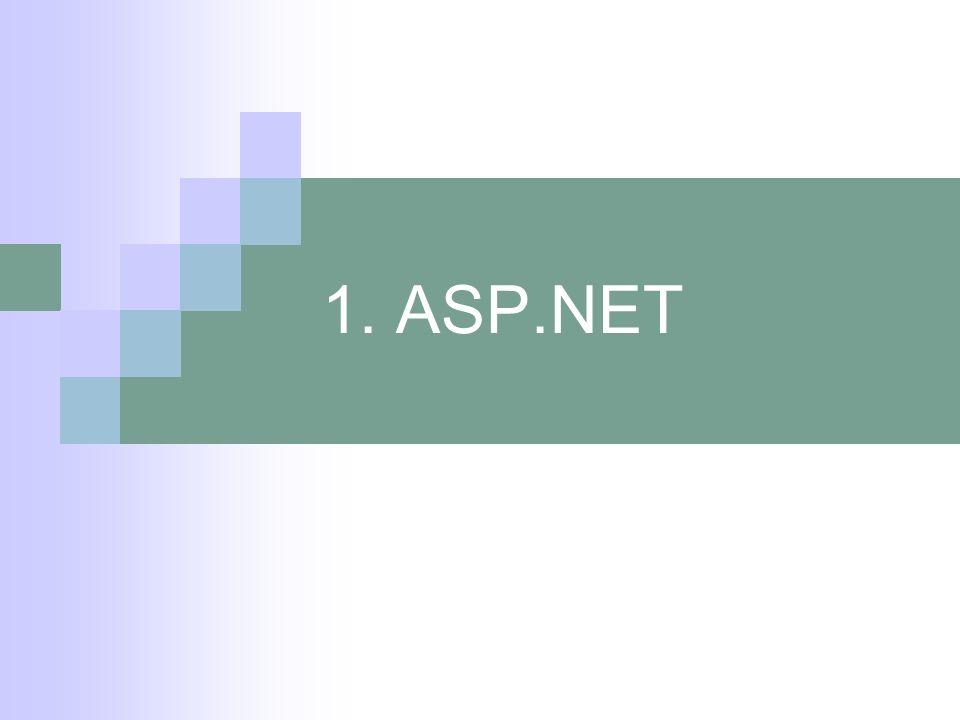 1. ASP.NET