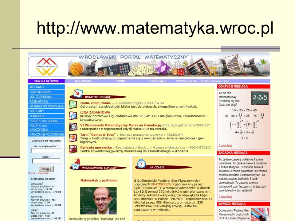 http://www.matematyka.wroc.pl
