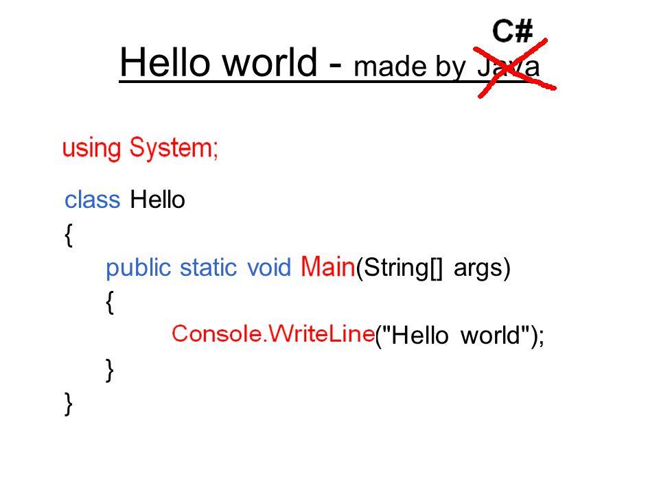 Włączenie/wyłączenie sprawdzania poprawności public static void Main(string[ ] args) { int num = 5000; byte a = (byte) num; checked { byte b = (byte) num; } unchecked { byte c = (byte) num; }