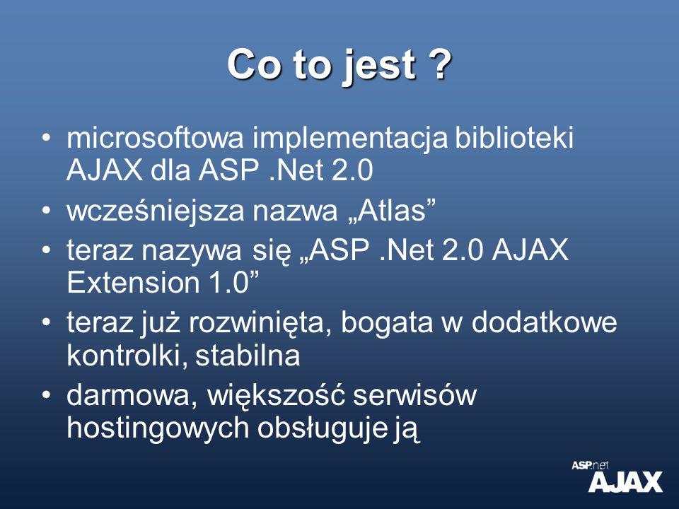 Co jeszcze oferuje Ajax Ex.