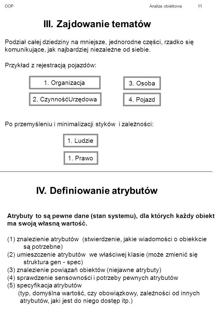 OOPAnaliza obiektowa11 III.