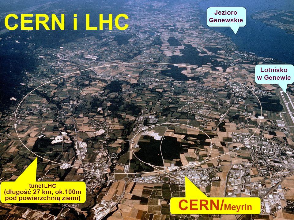 LHC - wystawa PW, HB20 CERN - przed wejściem głównym – flagi państw - członków CERN-u Tak, jesteśmy jako kraj