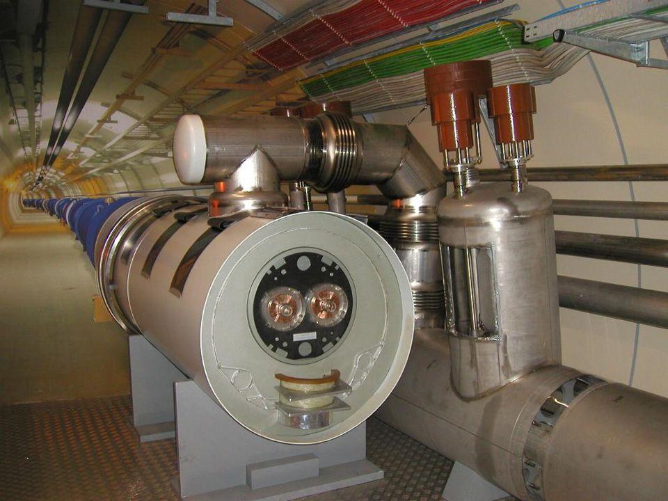 LHC - wystawa PW, HB23 LHC w schematycznym przekroju