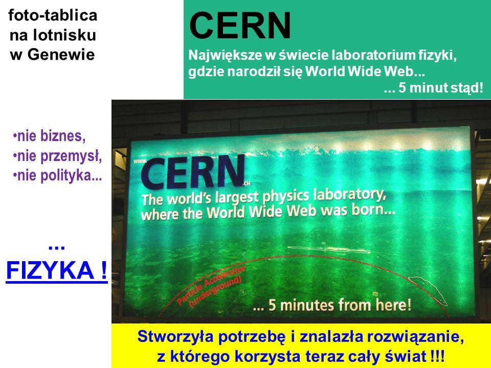 LHC - wystawa PW, HB36 A czy zwykłemu człowiekowi to się na co przyda? nowe materiały, nowe technologie, nowe urządzenia pomiarowe, zastosowania w med