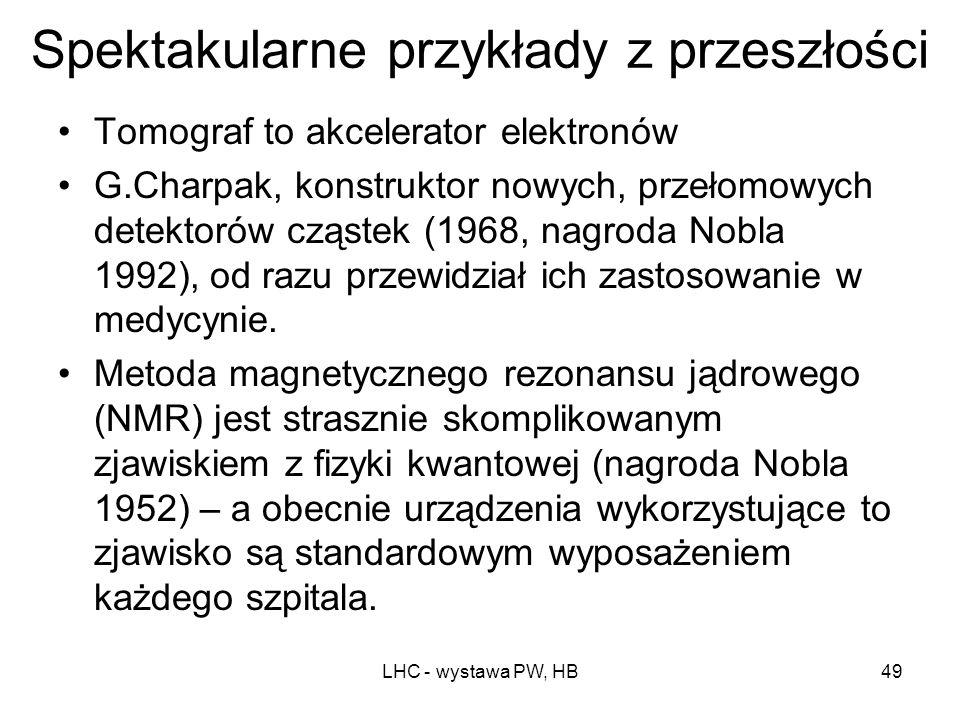 LHC - wystawa PW, HB48 To są źle postawione pytania! Badania podstawowe muszą się rozwijać, bo tylko wtedy zapewnimy postęp i umożliwimy nowe wynalazk