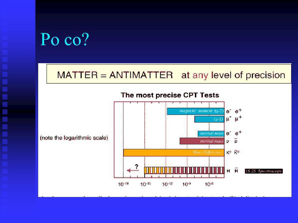 Pożytek z zimnych pbar: AD4 Znana, stosowana terapia protonowa, próby C Antyprotony mogą wnosić więcej energii do tkanki – gdy zlokalizowana anihilacja Projekt: naświetlanie próbek tkanek biologicznych antyprotonami z AD Zatwierdzone parę godzin wiązki