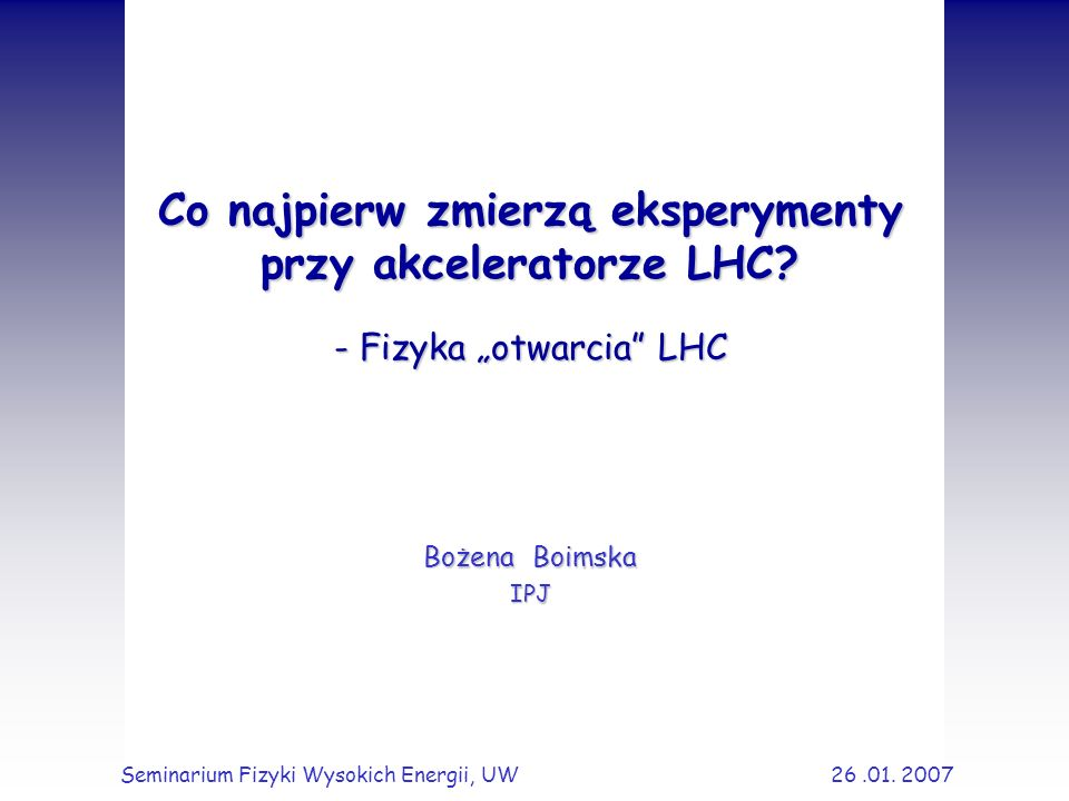 12 Eksperyment TOTEM T1: 3.1 < < 4.7 (CSC) T2: 5.3 < < 6.5 (GEM) T1 T2 CASTOR (CMS) RP1 (147 m) RP2 (180 m) RP3 (220 m) ~10 m ~14 m detektory krzemowe wewnątrz jednostek zw.