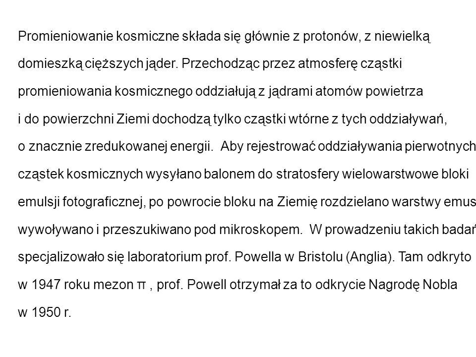 Hiperjądra podwójne Pierwszy przypadek podwójnego hiperjądra znaleziono w Warszawie w 1962 r.