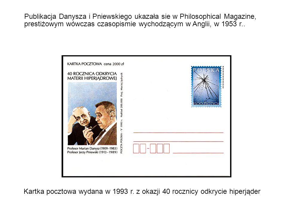 Kartka pocztowa wydana w 1993 r.